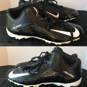 New Nike Alpha Shark 2 Mid Football Baseball Cleat
